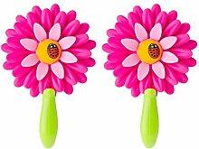 Pack 2u Haken Schrank Flower Power-Rosa