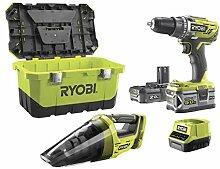 Pack Akku-Bohrschrauber Ryobi 18 V OnePlus R18DD3