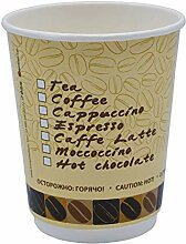 Pack & Cup Bio Doppelwand-Thermobecher Coffee