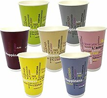 Pack & Cup Bio Doppelwand-Thermobecher Fiesta