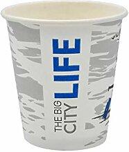 Pack & Cup Bio Einweg Kaffeebecher Pappbecher Big