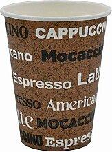 Pack & Cup Bio Einweg Kaffeebecher Pappbecher Neo