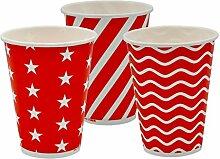 Pack&Cup Eco Einwegbecher Pappbecher für