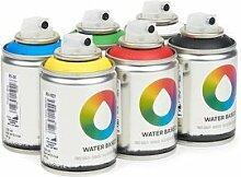 Pack Waterbased 100ml 6Stück verschiedene Farben