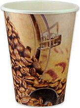 pack2go 1000 Premium Kaffeebecher - 12oz, 300ml,