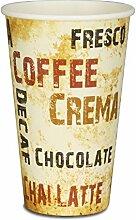 pack2go 1000 Premium Kaffeebecher - 16oz, 400ml,