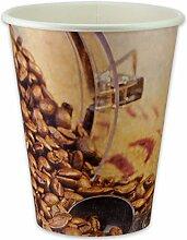 pack2go 1000 Premium Kaffeebecher - 8oz, 200ml,
