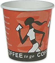 pack2go 1000 Premium Kaffeebecher, Pappe,