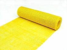 Packfix Tischläufer, Jute, gelb, 5m x 30cm