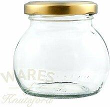 Packung von 36 x 212ml Glas-Globus-Gläser