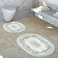 Paco Home Badezimmer Teppich Set Ornamente