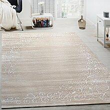 Paco Home Designer Teppich Mit Floral Muster Und