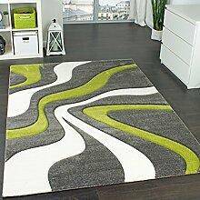 Paco Home Designer Teppich mit Konturen-Schnitt