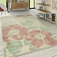 Paco Home Designer Teppich Wohnzimmer Kurzflor