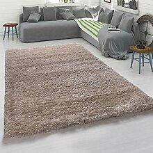 Paco Home Hochflor-Teppich, Kuschelig Weicher