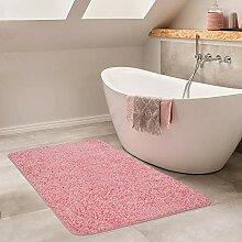 Paco Home Moderner Badezimmer Teppich Einfarbig
