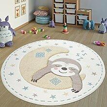 Paco Home Teppich Kinderzimmer Rund Kinderteppich