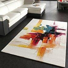 Paco Home Teppich Modern Splash Designer Teppich