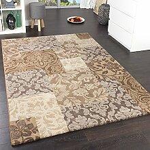 Paco Home Teppich Modern Stylish Grau, Grösse:120x170 cm