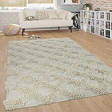 Paco Home Teppich Wohnzimmer Shaggy Hochflor