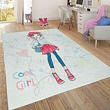 Paco Home Trendiger Flachgewebe Kinderzimmer