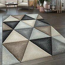 Paco Home Wohnzimmer Teppich Skandinavischer Stil