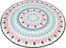 pad CAICOLORFUL MUMA Modern Einfach Runder Teppich