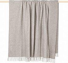 pad CLASSIC Decke/blanket Wolldecke 150*200 beige