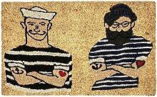 Pad - Fußmatte - Kokosmatte - Fußabtreter -