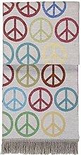 pad Wolldecke Peace, Farbe multi, 150x200