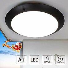 PADMA Außenleuchte LED Wandleuchte Schwarz
