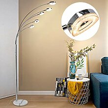 PADMA LED Stehlampe Modern Dimmbar 5 Flammig,