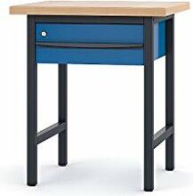 Pador Profi-Arbeitstisch 75 cm 1 Schublade
