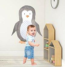 Pädagogische Aufkleber für Kinder Pinguin