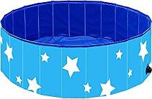 PAEFIU Hundepool Schwimmbad,Hundepool Faltbarer 60