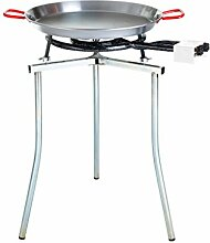 Paella World International Paella-Grill-Set groß, klappbar, Mehrfarbig, 5-teilig