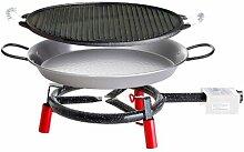 Paella World International Paella-Grill-Set Trekking-Line Vollausstattung, Mehrfarbig, 6-teilig
