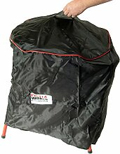 PaellaWorld 7712 Grillset-Allwetterschutzhülle bis Pfanne Durchmesser 55 cm