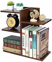PAG Kleines Bücherregal aus Holz, montiert,