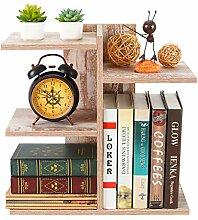 PAG Schreibtischregal aus Holz, kleines