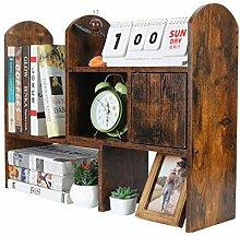 PAG Verstellbares Schreibtischregal, Bücherregal,