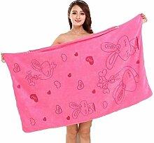 Pagacat Weiches Badetuch Dusche-Kleid große