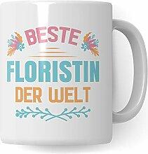 Pagma Druck Floristin Geschenk, Florist Tasse