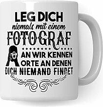 Pagma Druck Fotograf Tasse, Geschenkideen für