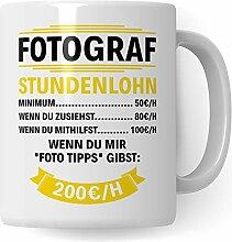 Pagma Druck Geschenk für Fotografen Becher, Tasse