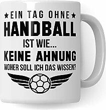 Pagma Druck Handball Tasse Geschenk, Handball