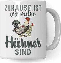 Pagma Druck Hühner Tasse, Huhn Becher