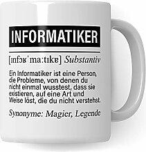 Pagma Druck Informatiker Tasse, IT Informatiker
