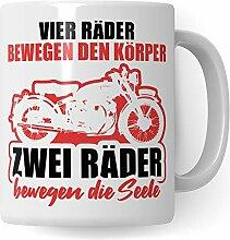Pagma Druck Motorrad Tasse Geschenk, Becher