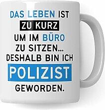 Pagma Druck Polizist Geschenk lustig, Polizei